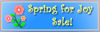 Spring For Joy SALE