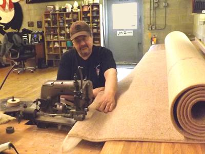 Binding Carpet edges