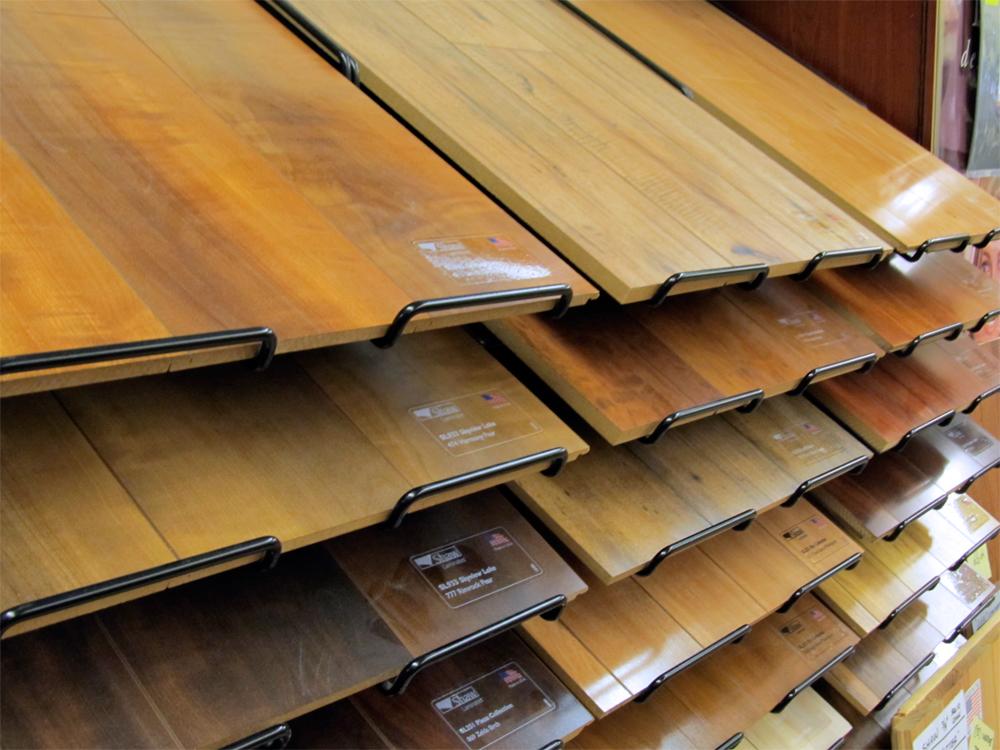 hardwood samples