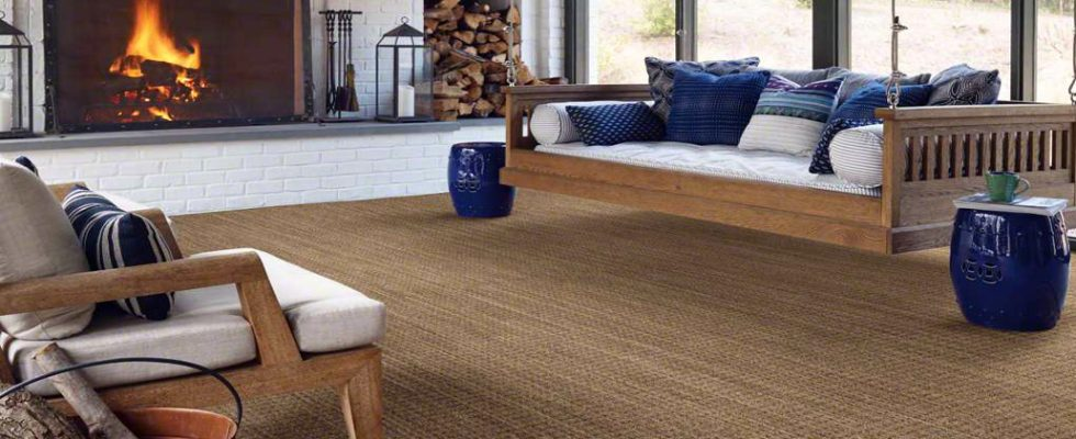 Carpet for casual spaces